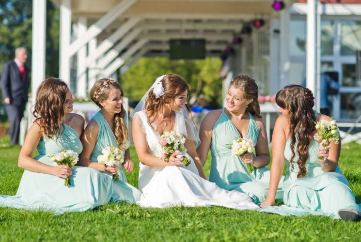 Шикарная свадьба в ресторане Мед